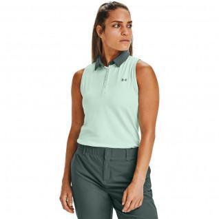 Women's Under Armour Zinger Sleeveless Polo Shirt