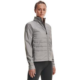 Women's jacket Under Armour Run Insulate Hybrid