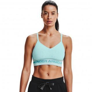 Women's Under Armour Sports Bra Seamless Low Long Heather