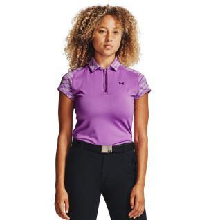 Under Armour Women's Polo Shirt Short Sleeve Zinger Zip