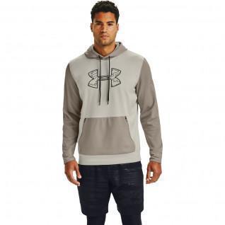 Armour Fleece Textured Big Logo Hoody