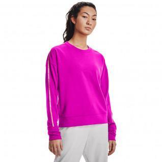 Women's Under Armour crew neck jersey with Rival Terry band