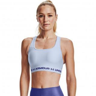 Armour Mid Crossback Sports Women's Bra
