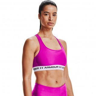 Armour Mid Crossback Sports Women's Bra