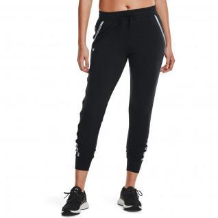 Under Armour Women's Jogging Pants with Rival Terry Stripe