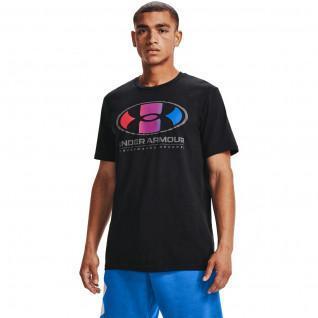 T-shirt Under Armour à manches courtes Multi Color Lockertag