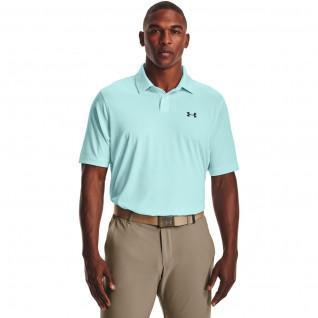 Performance Striped Under Armour Polo Shirt