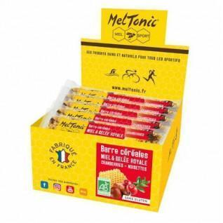 15 energy bars Meltonic BIO - CRANBERRIES & NOISETTES GRILLEES