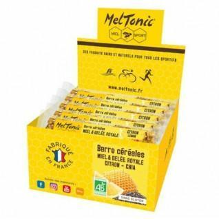 15 energy bars Meltonic BIO - CITRON & CHIA