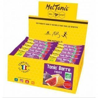 30 energy bars Meltonic TONIC' BIO - FIGUES