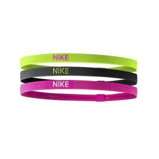Set of 3 Nike elastic headbands