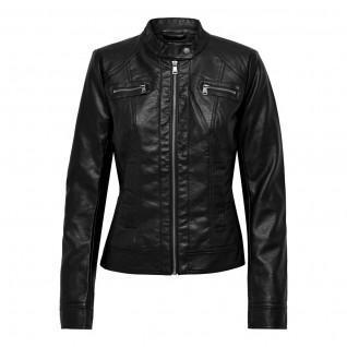 Jacket woman Only Bandit imitation biker leather