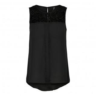 Women's T-shirt Only short sleeves Venice lace