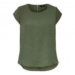 Women's T-shirt Only manches courtes Vic solid