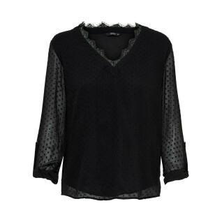 Women's long sleeve T-shirt Only onlmacy fold up