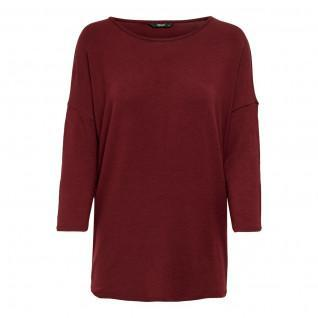 Women's T-shirt Only Glamour manches 3/4