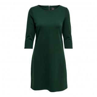 Only Brilliant women's dress with 3/4 sleeves