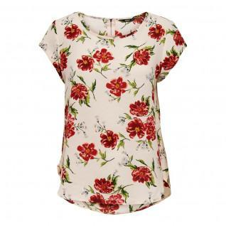 Women's top Only Vic manches courtes