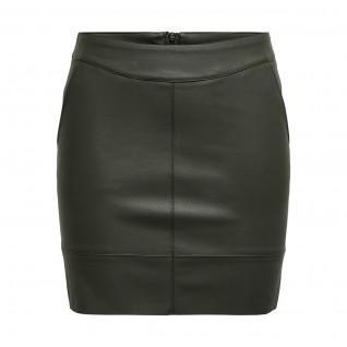 Women's skirt Only Base imitation leather