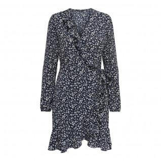 Women's Only Carly wrap long sleeves dress