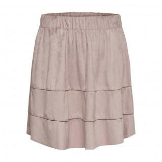 Skirt woman Only Carma suede type