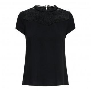 Women's T-shirt Only short sleeves First one life lace