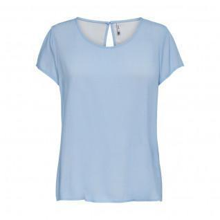 Women's T-shirt Only First one life solid short sleeves