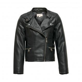 Only kids Freya Girl Jacket imitation leather biker