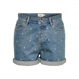 Women's denim shorts Only onljosie life