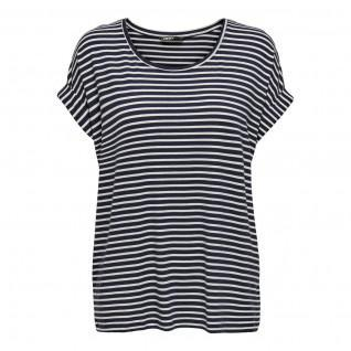 Women's Only Moster stripe T-shirt with round collar