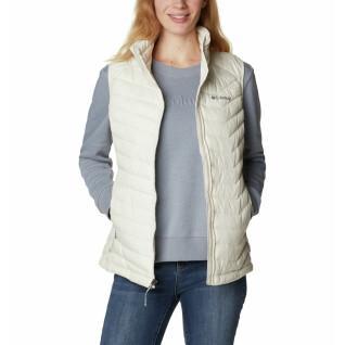 Sleeveless jacket woman Columbia Powder Lite