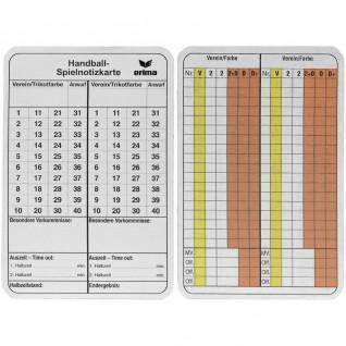 annotations for Cards Referee Handall Erima
