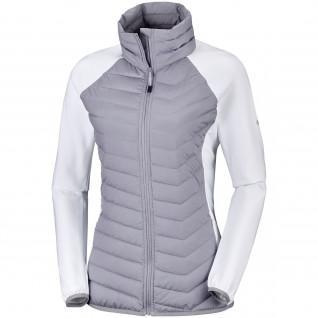 Women's fleece jacket Columbia Hybride Powder Lite