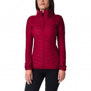 Fleece jacket woman Columbia Hybrid Powder Lite