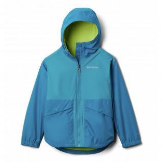 Columbia Rainy Trails Fleece Lined Girl's Jacket
