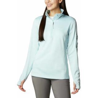 Women's 1/2 zip sweatshirt Columbia Park View Grid Fleece