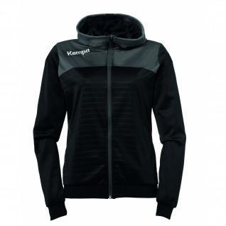 Hooded jacket Kempa Femme Emotion 2.0