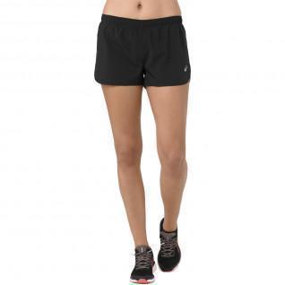 Women's Asics Silver split shorts