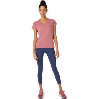Women's T-shirt Asics V-Neck