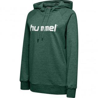 Hoodie Cotton woman Hummel Logo