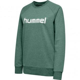 Sweatshirt Hummel woman Cotton Logo