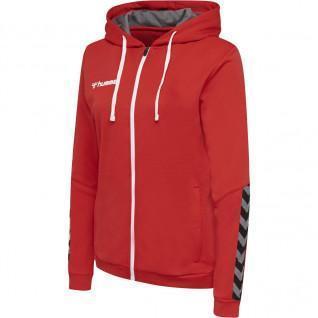 Sweatshirt woman Hummel zip hmlAUTHENTIC Poly