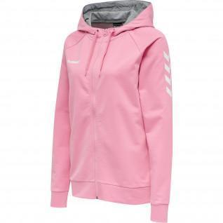 woman hooded sweatshirt Hummel Hmlgo Zip