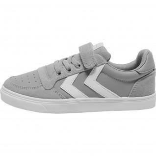 Junior Shoes Hummel slimmer stadil leather low