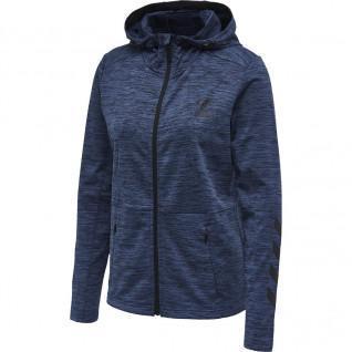 Sweatshirt Hummel zip Selby