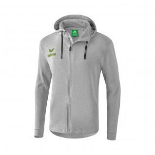 Erima sweat jacket with hood essential