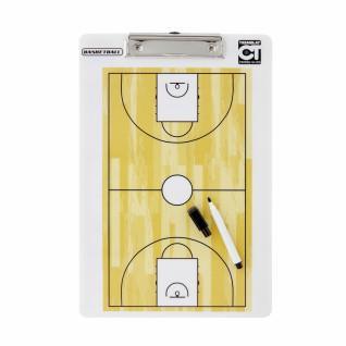Basketball Tremblay training plate recto/verso