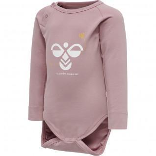 Baby bodysuit long sleeves Hummel hmlalma