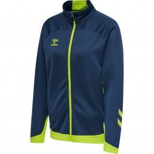 Women's zip-up jacket Hummel hmlLEAD poly [Size L]