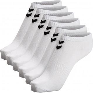 Pack of 6 short socks for women Hummel hmlchevron